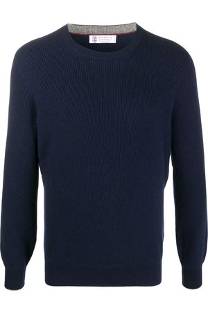 Brunello Cucinelli Long-sleeve fitted jumper