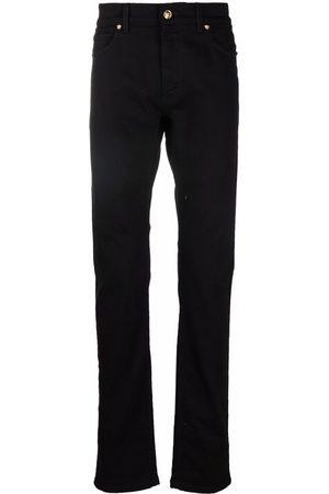 VERSACE Homem Retos - Straight-leg Medusa logo plaque jeans