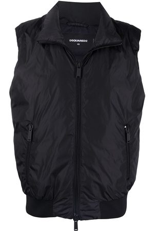 Dsquared2 Icon zip-up padded gilet