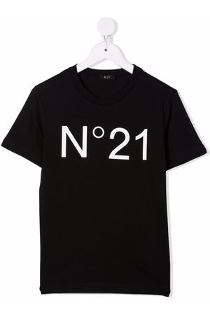 Nº21 Kids Logo-print cotton T-shirt