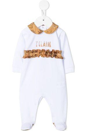 Alviero Martini Bebé Pijamas - 1st Class ruffle-trim pyjamas
