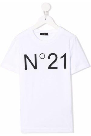 Nº21 Logo-print cotton T-shirt