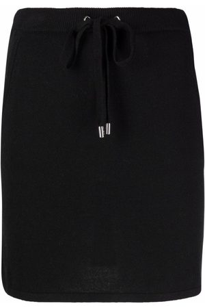 Michael Kors Drawstring wool mini skirt