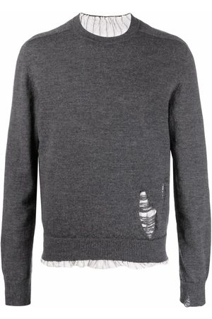 Maison Margiela Homem Camisolas - Anonymity of the lining knit jumper