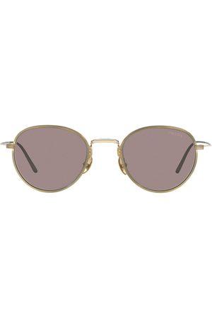 Prada Frameless round-frame sunglasses