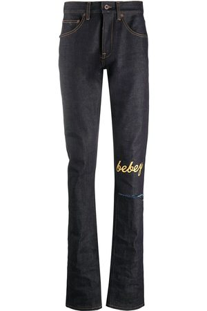 OFF-WHITE X Theophilus London bebey selvedge jeans