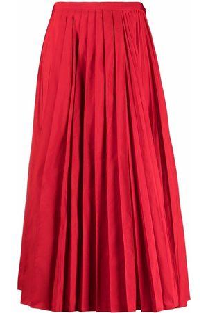 VALENTINO Fully pleated midi skirt