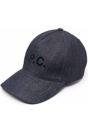 A.P.C. Homem Chapéus - Logo-print cap
