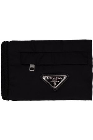 Prada Knitted pouch wallet