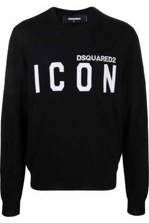 Dsquared2 Slogan-print wool jumper