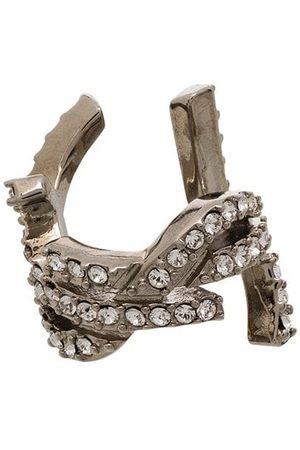 Saint Laurent Slip crystal embellished earcuff