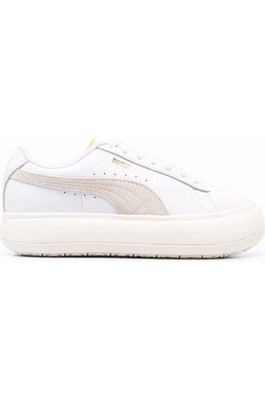 PUMA Mayu leather platform sandals