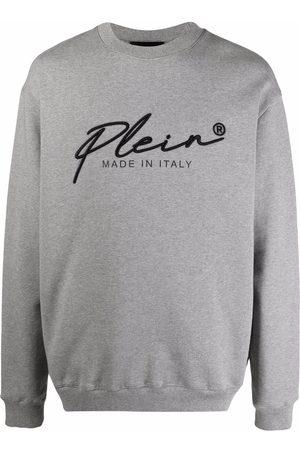 Philipp Plein Homem Camisolas - Signature logo-print sweatshirt