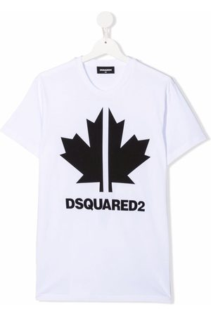 Dsquared2 TEEN logo-print cotton T-shirt