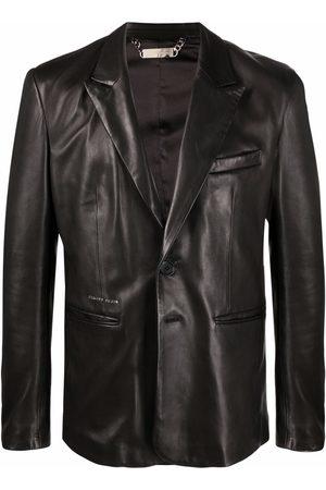 Philipp Plein Casanova leather blazer