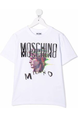 Moschino Logo-print cotton T-Shirt