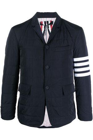 Thom Browne 4-Bar motif padded blazer