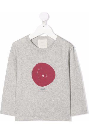 KNOT Hinomaru long-sleeved T-shirt