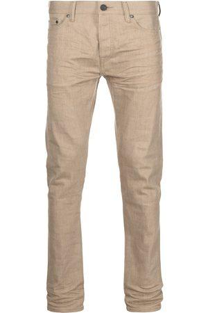 JOHN ELLIOTT High-rise slim-fit jeans