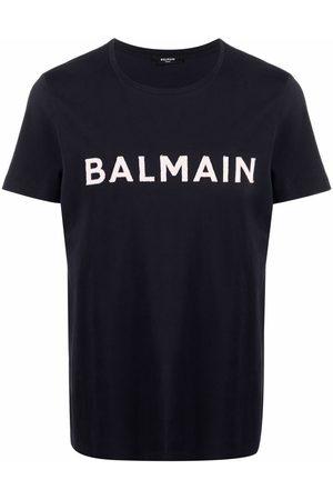 Balmain Logo appliqué T-shirt