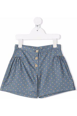 KNOT Polka-dot print shorts