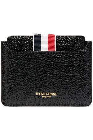 Thom Browne Grosgrain loop leather mirror case