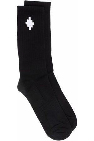 MARCELO BURLON Homem Meias - Cross ankle-length socks
