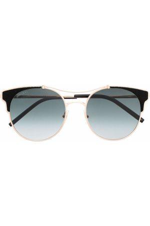 Jimmy Choo Lues round frame sunglasses