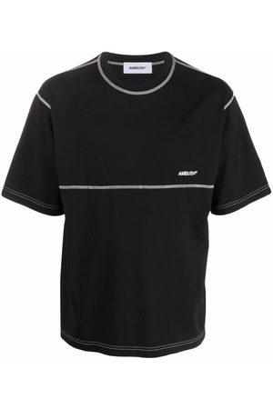 AMBUSH Homem T-shirts & Manga Curta - Logo-embroidered T-shirt