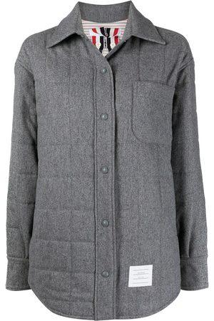 Thom Browne Oversized padded shirt jacket
