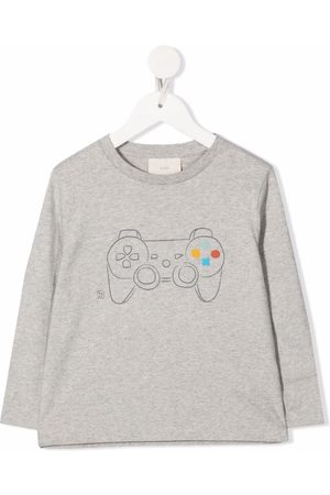 KNOT Graphic-print long-sleeved T-shirt