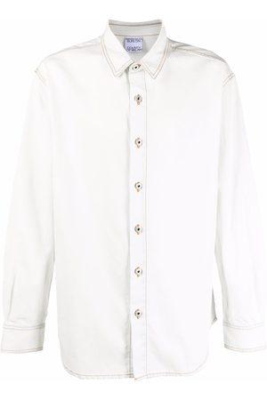 MARCELO BURLON Homem Manga comprida - Cross Wolf long-sleeve shirt