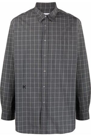 Kenzo Homem Formal - Embroidered-logo shirt
