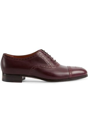 Gucci Homem Oxford & Moccassins - Brogue-detailed Derby shoes