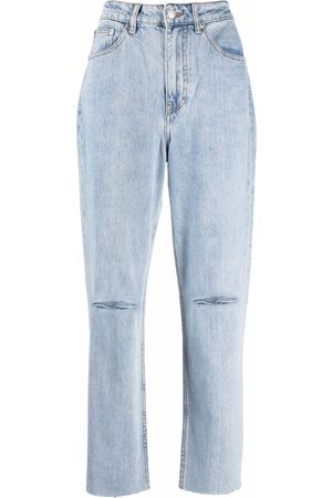 12 STOREEZ Ripped-knee jeans