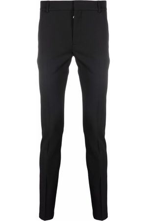 Balmain Pressed-crease tailored trousers