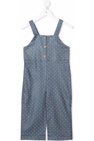 KNOT Kiku polka-dot print jumpsuit