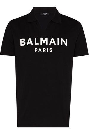 Balmain Logo-print polo shirt