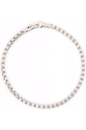 TOM WOOD Venetian Double M sterling bracelet