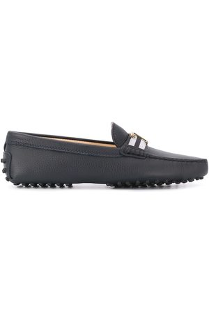 Tod's Senhora Oxford & Moccassins - T plaque loafers