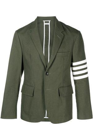 Thom Browne 4-Bar motif single-breasted blazer