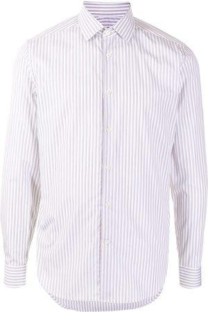 corneliani Multi-stripe print shirt