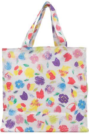Familiar Floral-print tote bag