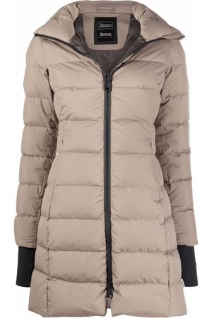 HERNO Padded mid-length coat