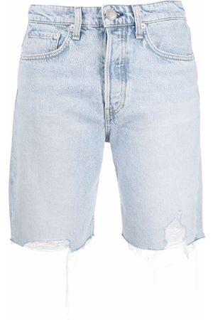RAG&BONE Mid-length denim shorts