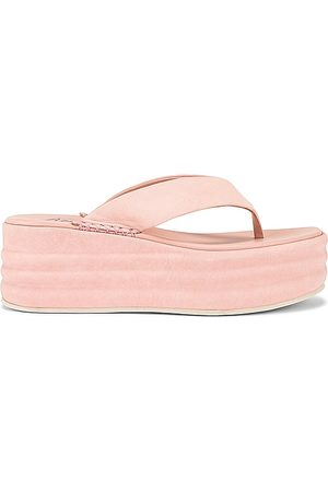 Free People Haven Thong Flatform Sandal in - Pink. Size 36 (also in 39, 40, 41, 37, 38).