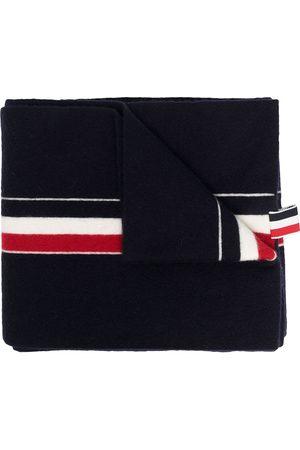 Thom Browne Homem Cachecóis & Echarpes - RWB tri-stripe ribbon scarf