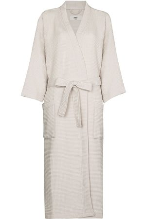 Hay Senhora Roupões de Banho - Waffle long bathrobe
