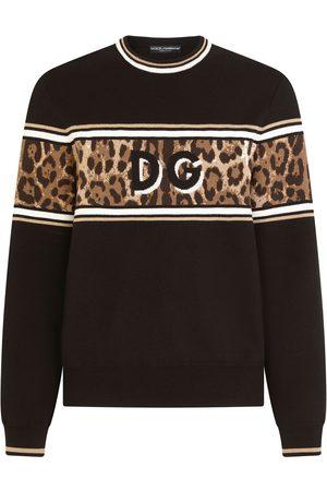 Dolce & Gabbana Leopard-print jumper