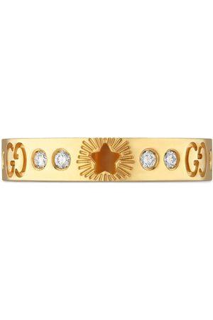 Gucci Senhora Anéis - 18kt yellow Icon diamond ring